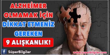 Alzheimer olmamak için dikkat etmeniz gereken 9 alışkanlık... 1