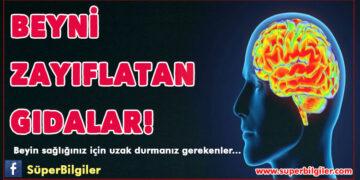 Beyni zayıflatan gıdalar... 2