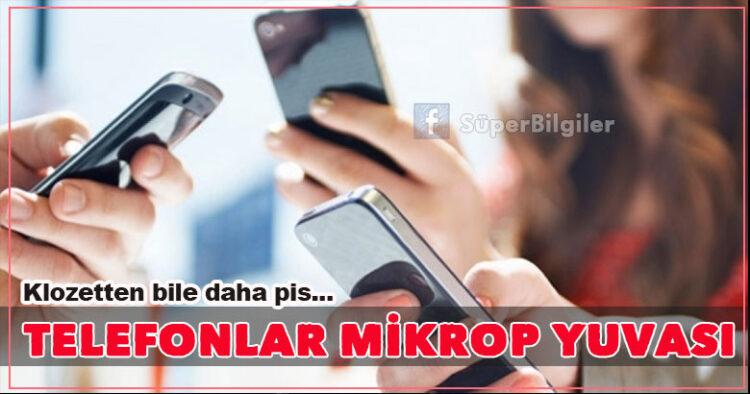 Telefonlar mikrop yuvası... 3