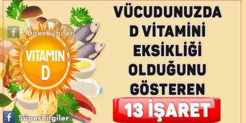 Vücudunuzda D vitamini eksikliği olduğunu gösteren 13 işaret! 1