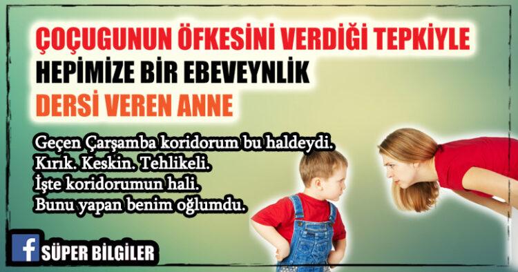 Çocuğunun Öfkesine Verdiği Tepkiyle Hepimize Bir Ebeveynlik Dersi Veren Anne 2