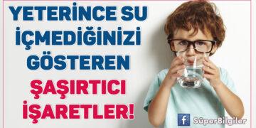 Yeterince su içmediğinizi gösteren şaşırtıcı işaretler! 2
