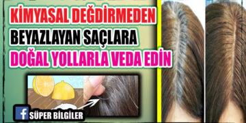 Kimyasal Değdirmeden Beyazlayan Saçlara Doğal Yollarla Veda Edin 2