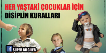 Her yaştaki çocuklar için disiplin kuralları 2