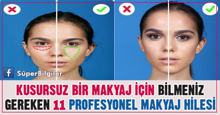 Kusursuz Bir Makyaj İçin Bilmeniz Gereken 11 Profesyonel Makyaj Hilesi 12