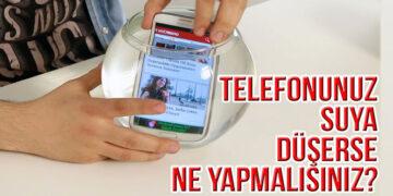Telefonunuz Suya Düşerse Ne Yapmalısınız? 1