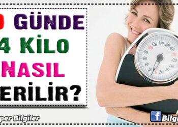 10 Günde 4 Kilo Nasıl Verilir? 1