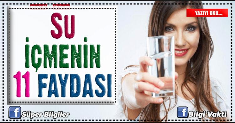 Su içmenin 11 faydası 1