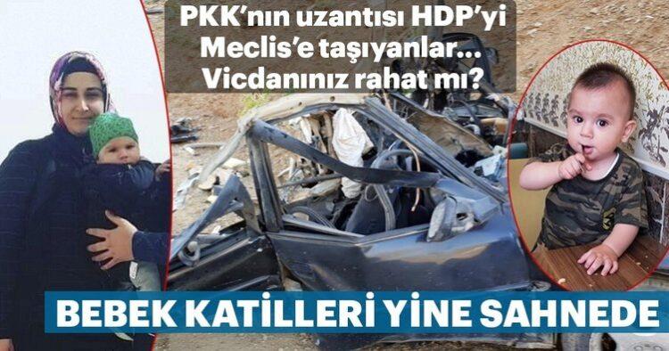PKK'dan kalleş tuzak! Asker eşi ile 11 aylık oğlunu şehit ettiler 2