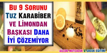Bu 9 Sorunu Tuz, Karabiber ve Limondan Başkası Daha İyi Çözemiyor 1