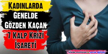 Kadınlarda Genelde Gözden Kaçan 7 Kalp Krizi İşareti 6