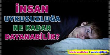 İnsan Uykusuzluğa Ne kadar Dayanabilir? 4
