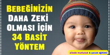 Bebeğinizin Daha Zeki Olması için 34 Basit Yöntem 2