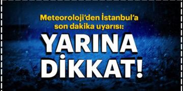 Meteoroloji'den İstanbul, Kocaeli Sakarya ve Kırklareli İçin Sağanak Yağış Uyarısı 3