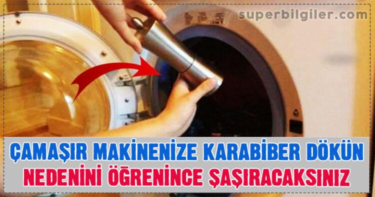 Çamaşır Makinenize Karabiber Dökün – Nedenini Öğrenince Şaşıracaksınız 6