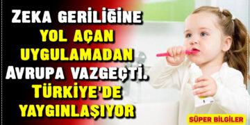 Zeka geriliğine yol açan uygulamadan Avrupa vazgeçti. Türkiye'de yaygınlaşıyor 3