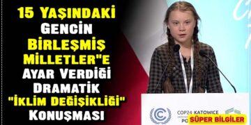 15 Yaşındaki Gencin Birleşmiş Milletler'e Ayar Verdiği, Dramatik 'İklim Değişikliği' Konuşması 4
