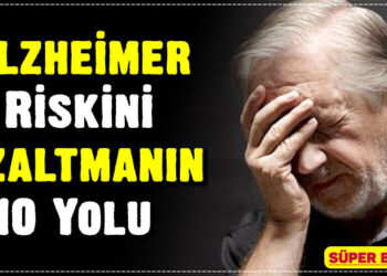 Alzheimer Riskini Azaltmanın 10 Yolu 3