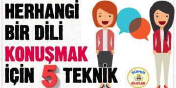 Herhangi bir dili konuşmak için 5 teknik 3