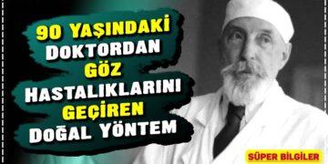 90 Yaşındaki Doktordan Göz Hastalıklarını Geçiren Doğal Yöntem 4