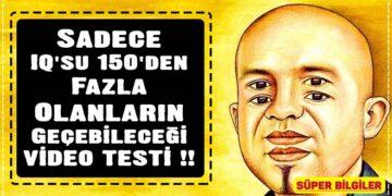 Sadece IQ'su 150'den Fazla Olanların Geçebileceği VİDEO TESTİ !! 2