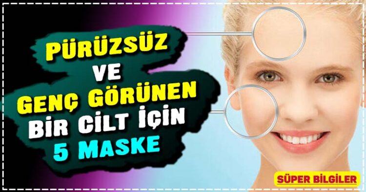 Pürüzsüz ve Genç Görünen Bir Cilt İçin 5 Maske 6