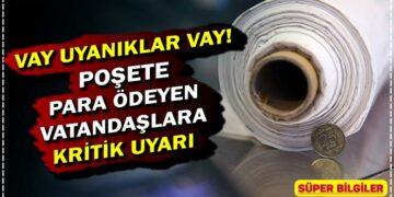 Vay uyanıklar vay! Poşete para ödeyen vatandaşlara kritik uyarı 2