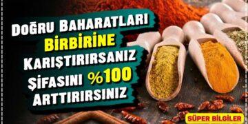 Doğru Baharatları Birbirine Karıştırırsanız Şifasını %100 Arttırırsınız 2