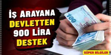 İş Arayana Devletten 900 Lira Destek 2