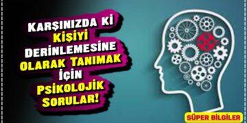 Karşınızda ki Kişiyi Derinlemesine Olarak Tanımak İçin Psikolojik Sorular! 2