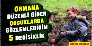 Ormana Düzenli Giden Çocuklarda Gözlemlediğim 5 Değişiklik 3