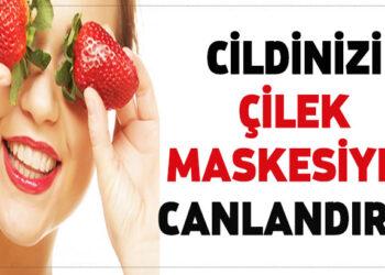 Çilek maskesiyle cildinizi canlandırın! 3