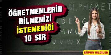 Öğretmenlerin Bilmenizi İstemediği 10 SIR 3