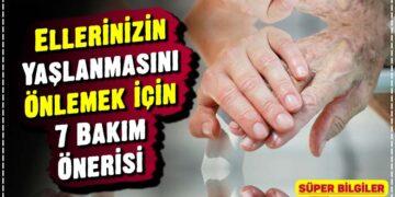 Ellerinizin Yaşlanmasını Önlemek için 7 Bakım Önerisi 1