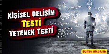Kişisel Gelişim Testi: Yetenek Testi 2