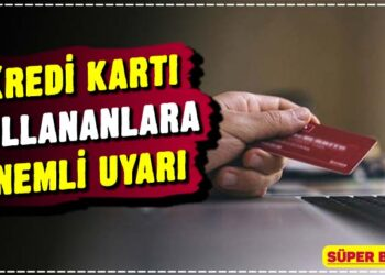 Kredi kartı kullananlara önemli uyarı 1