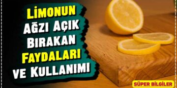 Limonun Ağzı Açık Bırakan Faydaları ve Kullanımı 4