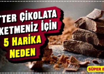 Bitter Çikolata Tüketmeniz İçin 5 Harika Neden 1