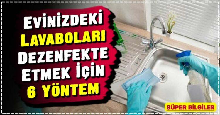 Evinizdeki Lavaboları Dezenfekte Etmek İçin 6 Yöntem 2