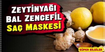 Zeytinyağı Bal Zencefil Saç Maskesi 2