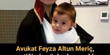 Bebeğini vücuduna kundaklayarak duruşmaya giren avukat.... 2