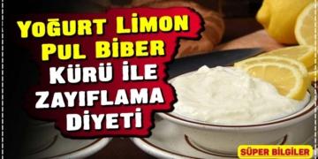 Yoğurt Limon Pul Biber Kürü ile Zayıflama Diyeti 2