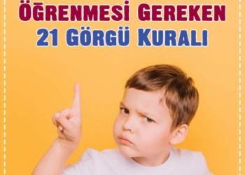 Çocuğunuzun Ergenliğe Girmeden Öğrenmesi Gereken 21 Görgü Kuralı