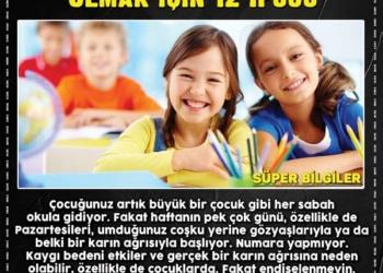 Çocuğunuzun Okula Adapte Olmasına Yardımcı Olmak için 12 İpucu 2