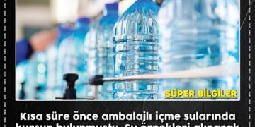 İçilmesi tehlikeli olan su markaları açıklandı! 2