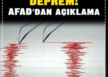 2 ilimizde daha deprem! AFAD'dan açıklama 2