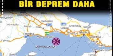 Fay hattı durmuyor! İstanbul'da bir deprem daha 2