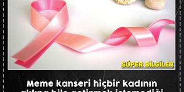Meme kanserine karşı bu 7 belirtinin farkında olun! 2