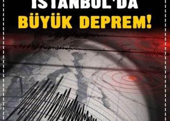 Son dakika: İstanbul'da büyük deprem! 5