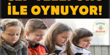 Çocuğum sürekli cep telefonu ile oynuyor, ne yapmalıyım?